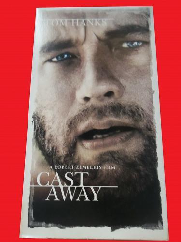 CAST AWAY (VHS) TOM HANKS, HELEN HUNT (ADVENTURE/DRAMA/THRILLER), PLUS FREE GIFT