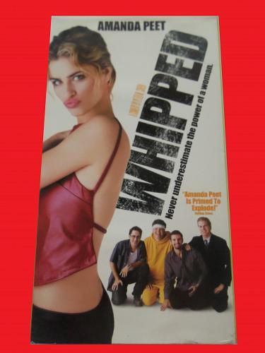 WHIPPED (VHS) AMANDA PEET, BRIAN VAN HOLT (ROMANTIC COMEDY), PLUS FREE GIFT