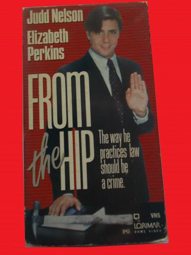FROM THE HIP (VHS) JUDD NELSON (COMEDY/THRILLER), PLUS FREE GIFT