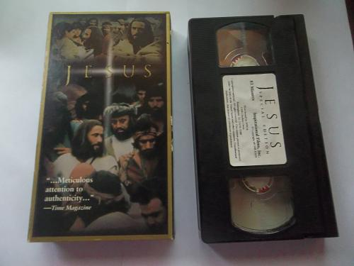 JESUS (VHS) BRIAN DEACON (DRAMA/THRILLER), PLUS FREE GIFT