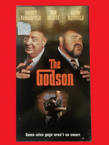 THE GODSON (VHS) RODNEY DANGERFIELD, DOM DELUISE (THRILL/DRAMA), PLUS FREE GIFT