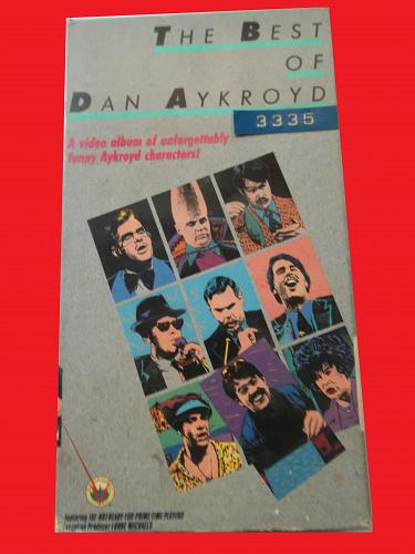 THE BEST OF DAN AYKROYD (VHS) COMEDY, PLUS FREE GIFT