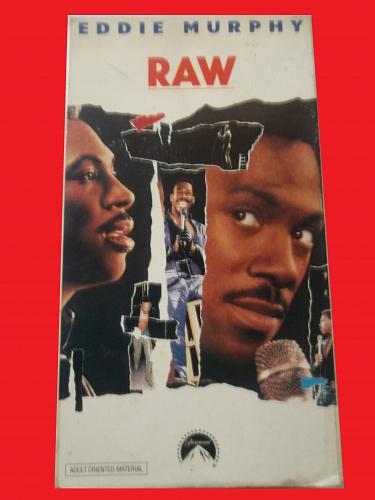 EDDIE MURPHY IN RAW (VHS) STAND UP COMEDY, PLUS FREE GIFT