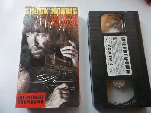 LONE WOLF MCQUADE (VHS) CHUCK NORRIS (ACTION/ADVENTURE), PLUS FREE GIFT