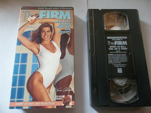 THE FIRM (VHS) EXERCISE, LAREINE CHABUT, PLUS FREE GIFT