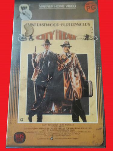 CITY HEAT (VHS) CLINT EASTWOOD, BURT REYNOLDS (ACTION/COMEDY), PLUS FREE GIFT