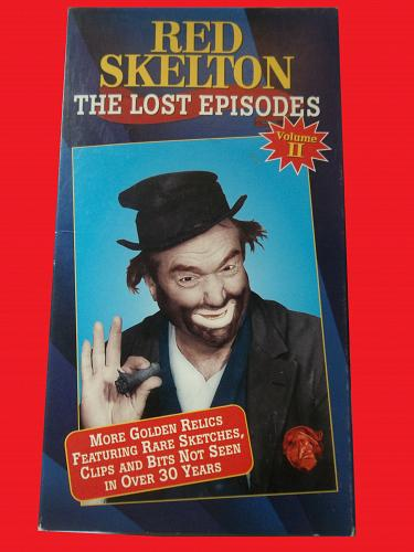 RED SKELTON THE LOST EPISODES, VOLUME 2 (VHS) COMEDY, PLUS FREE GIFT