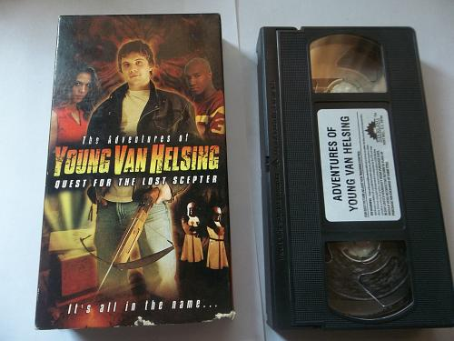 THE ADVENTURES OF YOUNG VAN HELSING (VHS) KEITH JORDAN (ADVEN), PLUS FREE GIFT