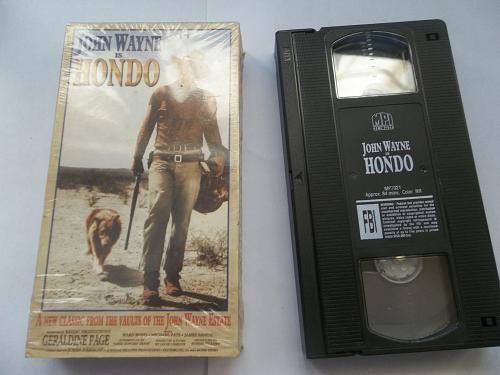 HONDO (VHS) JOHN WAYNE (WESTERN/DRAMA/ACTION), PLUS FREE GIFT