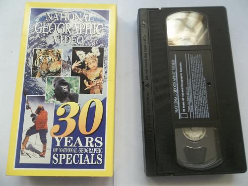 NATIONAL GEOGRAPHIC VIDEO SET (6 BOX SET TAPES) (VHS) EDU/DOCU, PLUS FREE GIFT