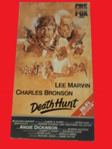 DEATH HUNT (VHS) CHARLES BRONSON, LEE MARVIN (ACTION/THRILLER), PLUS FREE GIFT