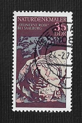 Germany DDR Used Scott #1799 Catalog Value $.25
