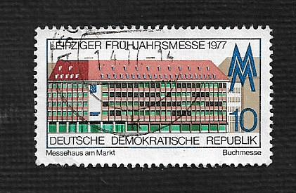 Germany DDR Used Scott #1801 Catalog Value $.25