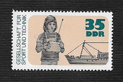 German DDR MNH Scott #1816 Catalog Value $.60
