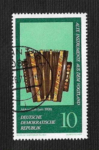 Germany DDR Used Scott #1817 Catalog Value $.25