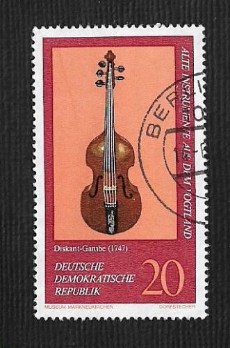 Germany DDR Used Scott #1818 Catalog Value $.25
