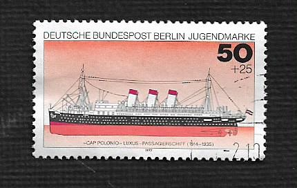 German Berlin Used #9NB135 Catalog Value $.75