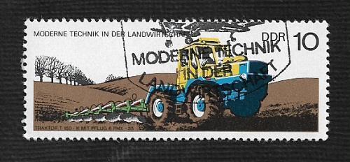 Germany DDR Used Scott #1829 Catalog Value $.25