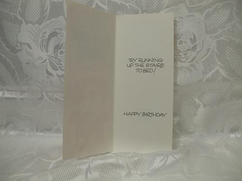 Puff And Pant Birthday Card With Envelope
