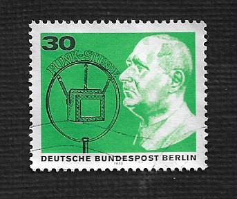 Germany Used Scott #9N343b Catalog Value $.75