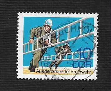 Germany DDR Used Scott #1864 Catalog Value $.25
