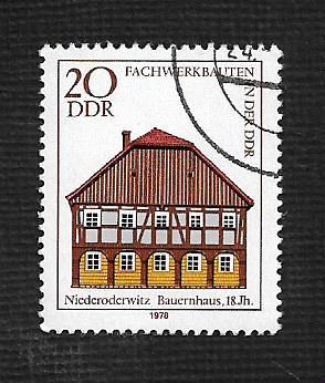 Germany DDR Used Scott #1883 Catalog Value $.25