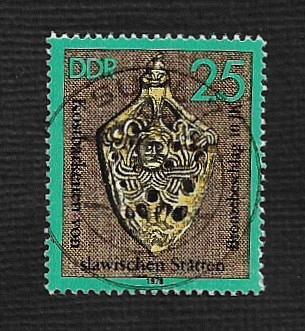 Germany DDR Used Scott #1893 Catalog Value $.25