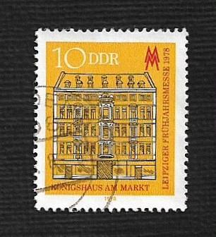 Germany DDR Used Scott #1896 Catalog Value $.25