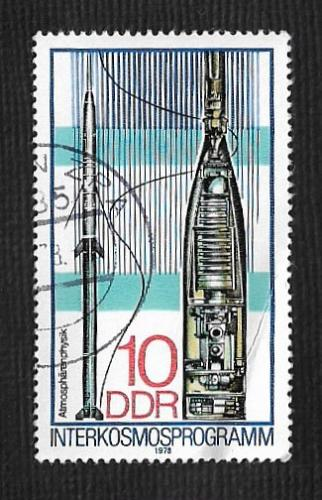 Germany DDR Used Scott #1898 Catalog Value $.25