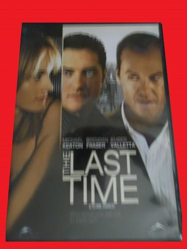 THE LAST TIME (FREE DVD) MICHAEL KEATON (HUMOR/THRILLER/SUS), PLUS FREE GIFT