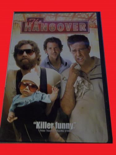 THE HANGOVER (FREE DVD) BRADLEY COOPER (COMEDY/ADVENTURE), PLUS FREE GIFT