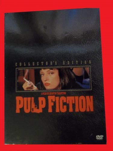 PULP FICTION (FREE DVD) JOHN TRAVOLTA (ACTION/THRILLER), PLUS FREE GIFT