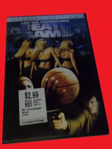 DEATH GAME (FREE DVD) JOE LARA (DRAMA/THRILLER/SPORTS), PLUS FREE GIFT