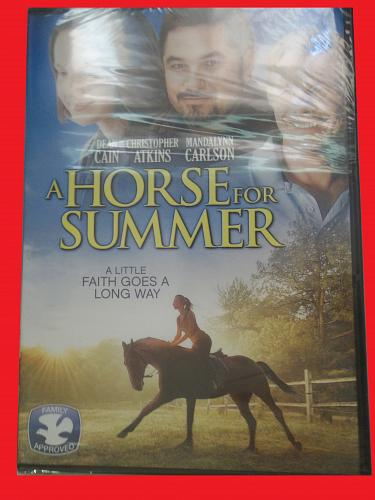 A HORSE FOR SUMMER, BRAND NEW (FREE DVD) DEAN CAIN (THRILLER/FAMILY), PLUS FREE GIFT