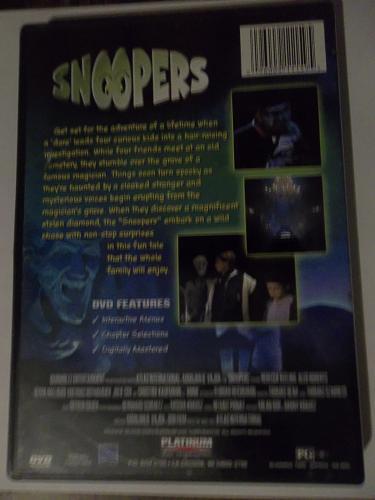 SNOOPERS (FREE DVD) REBECCA KEELING (ADVENTURE/COMEDY/TEEN), PLUS FREE GIFT