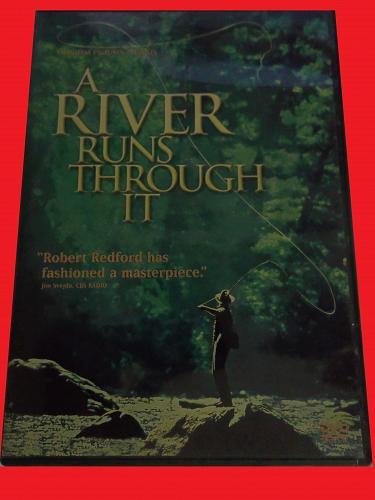 A RIVER RUNS THROUGH IT (FREE DVD) BRAD PITT (DRAMA/THRILLER), PLUS FREE GIFT