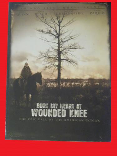 BURY MY HEART AT WOUNDED KNEE (FREE DVD) AIDAN QUINN (WESTERN), PLUS FREE GIFT
