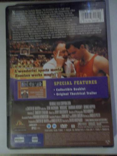 HOOSIERS, BRAND NEW (FREE DVD) GENE HACKMAN (SUSPENSE/ACTION/SPORTS), PLUS FREE GIFT