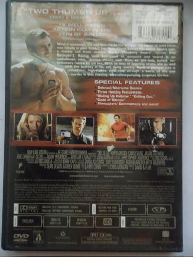 CELLULAR (FREE DVD) KIM BASSINGER (THRILLER/ACTION), PLUS FREE GIFT