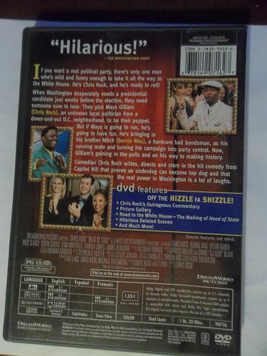HEAD OF STATE (WITH FREE DVD) CHRIS ROCK (ADULT COMEDY), PLUS FREE GIFT