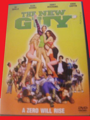THE NEW GUY (WITH FREE DVD) DJ QUALLS (COMEDY), PLUS FREE GIFT