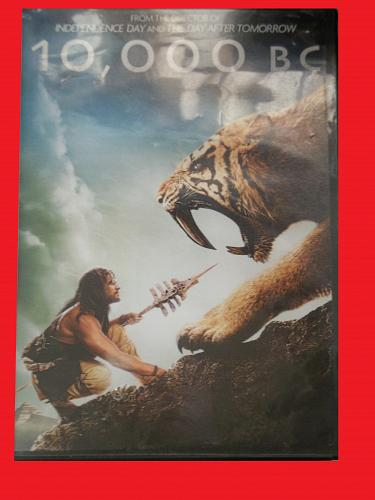 10,000 BC (WITH FREE DVD) STEVEN STRAIT (ACTION/THRILLER), PLUS FREE GIFT