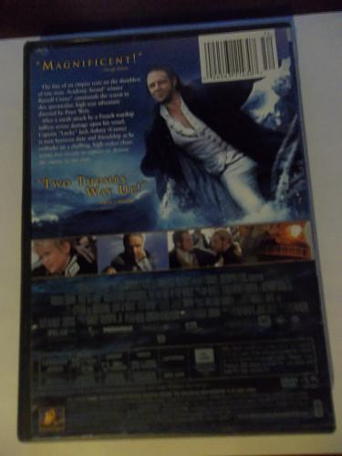 MASTER AND COMMANDER (WITH FREE DVD) RUSSELL CROWE (ACTION/ADVENTURE), PLUS FREE GIFT