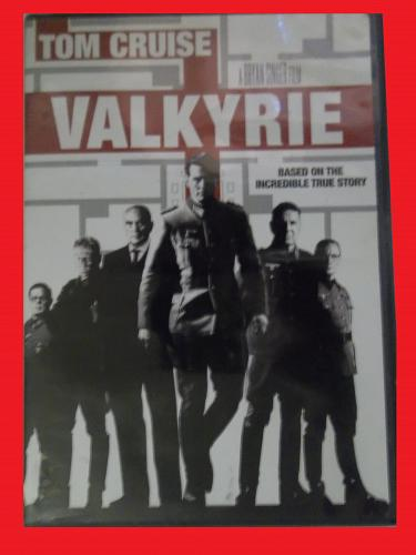 VALKYRIE (WITH FREE DVD) TOM CRUISE (TRUE STORY/ACTION/SUSPENSE), PLUS FREE GIFT