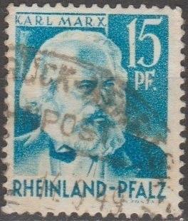 [GS6N21] (Rhine-Palatinate) Sc. no. 6N21 (1948) Used