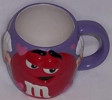 m & m valentine day oversized coffee cup