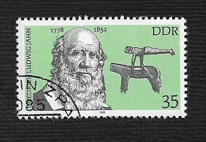 Germany DDR Used Scott #1931 Catalog Value $.25