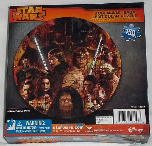 Star Wars Saga puzzle