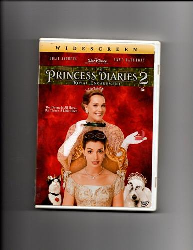 Princess Diaries 2 - Royal Engagement DVD 2004, Disney Widescreen - Very Good