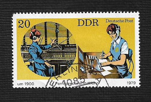 Germany DDR Used Scott #1988 Catalog Value $.25